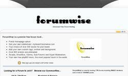 Screenshot of Mystery forum