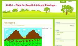 Screenshot of World's Best Art Blog