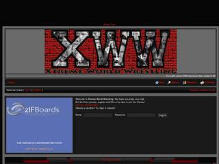 Screenshot of Xtreme World Wrestling