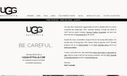 Screenshot of lr3 ugg sale
