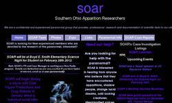 Screenshot of SOAR Southern Ohio Apparition Researchers