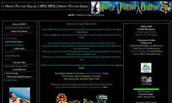 Screenshot of Harry Potter Online RPG
