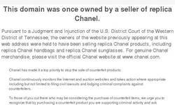 Screenshot of chanel bags