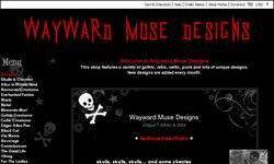 Screenshot of Wayward Muse Designs