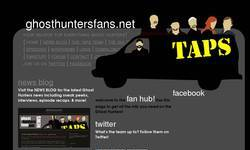 Screenshot of Ghost Hunters Fans