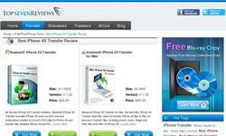 Screenshot of http://www.topsevenreviews.com/reviews-iphone-4s-transfer.html