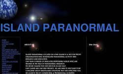 Screenshot of island paranormal