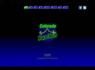 Screenshot of Colorado Para-Tech