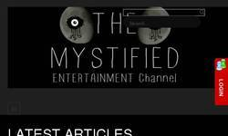 Screenshot of The Mystified Social Paranormal Entertainment