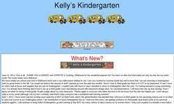 Screenshot of Kelly's Kindergarten