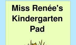 Screenshot of Miss Renee's Kindergarten Pad
