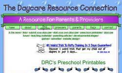 Screenshot of DRC's Preschool Printables & More