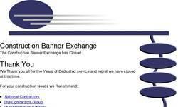 Screenshot of Construction Banner Exchange