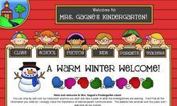 Screenshot of Mrs. Gagne's Kindergarten