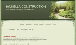 Screenshot of www.iannellaconstruction.webs.com
