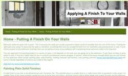 Screenshot of Z Drywall Finishing Inc.