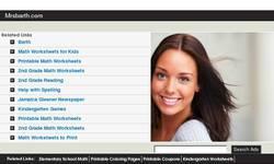 Screenshot of Mrs. Barth's Second Grade Website