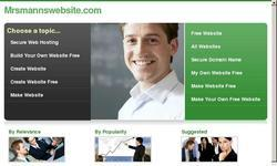 Screenshot of Mrs. Mann's Class Website