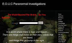 Screenshot of E.O.U.C Paranormal Investigations