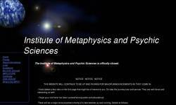 Screenshot of Institute of Metaphysics and Psychic Sciences