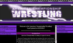 Screenshot of American Championship Wrestling