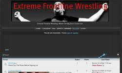 Screenshot of Extreme Frontline Wrestling