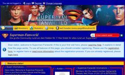 Screenshot of Superman-Fanworld