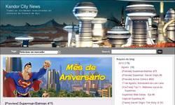 Screenshot of Kandor City News