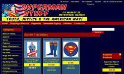 Screenshot of Superman Stuff