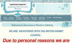 Screenshot of warrfinn rabbitry