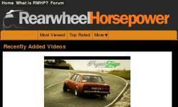 Screenshot of Rear Wheel Horsepower Forum