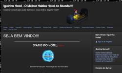 Screenshot of Iguinhu Hotel - O Melhor Habbo Hotel Brasileiro!!!