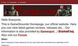Screenshot of GameGrounds- Talking anything and everything gaming