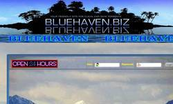 Screenshot of bluehaven.biz