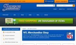 Screenshot of Fanway-NFL Merchandise Shop