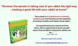 Screenshot of How To Train & Care For Your Rabbit