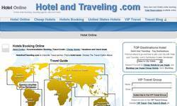 Screenshot of Cheap Hotels; Discount Hotel And Traveling Reservation Guide