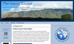 Screenshot of The Savvy Tourist