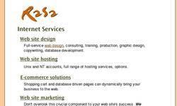 Screenshot of rasa