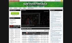 Screenshot of SoccerFreakz - The New Soccer Network