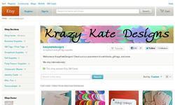 Screenshot of Krazy Kate Designs