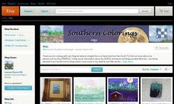 Screenshot of Southern Colorings