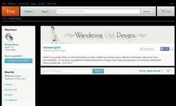 Screenshot of Wandering Girl Designs