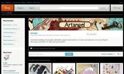 Screenshot of Artangel