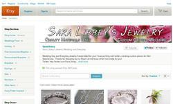 Screenshot of Sara Libbey's Jewelry