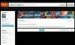 Screenshot of Jesseca and Tami's Creations