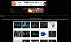 Screenshot of Full Blown Glass