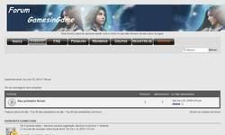 Screenshot of Forum GamesinGame