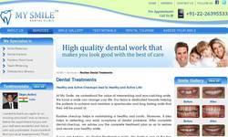 Screenshot of Cosmetic dental treatment Mumbai, India