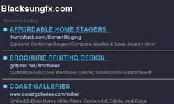 Screenshot of Blacksungfx